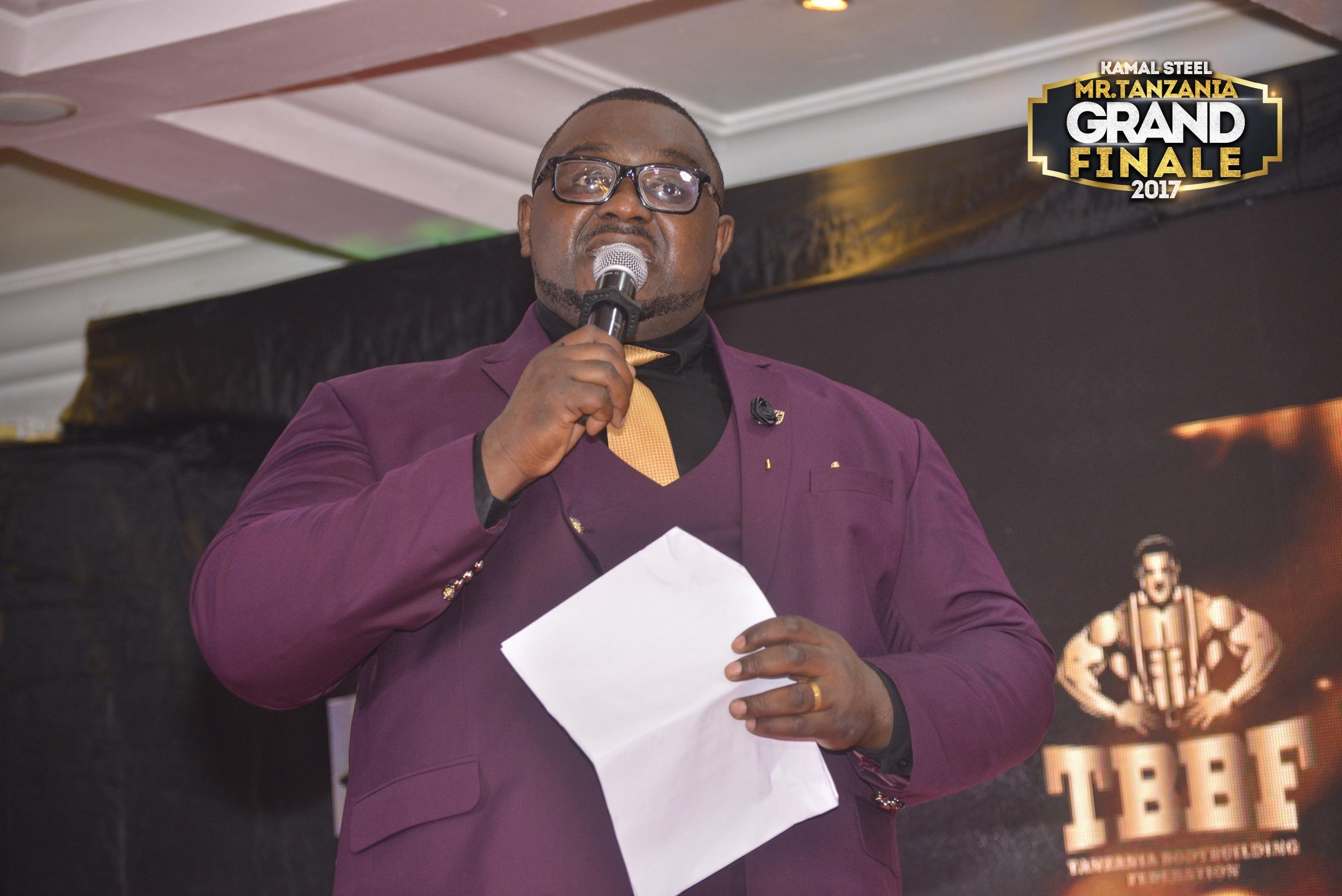 Chris - Mr. Tanzania Host