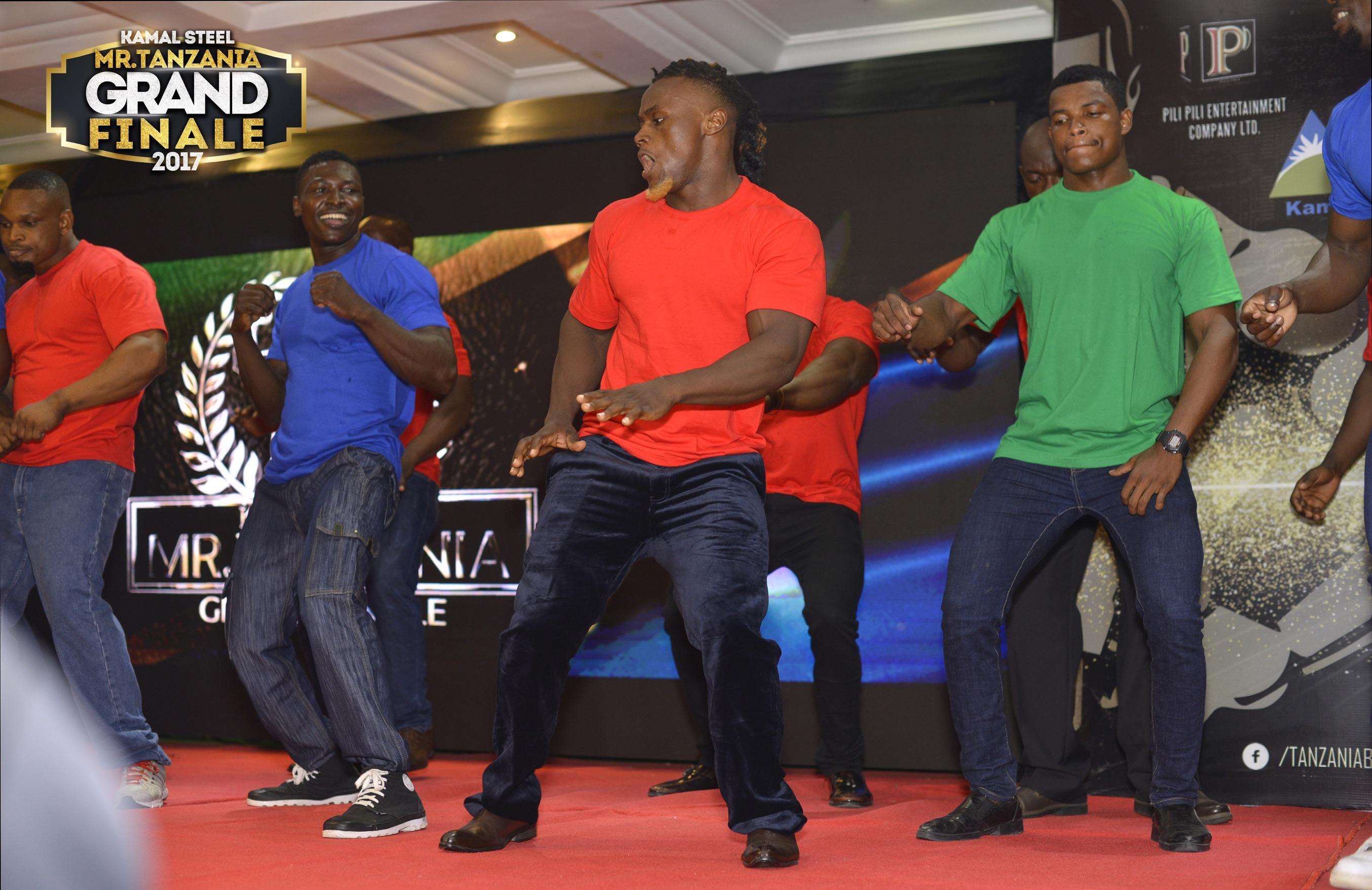 Contestants Dance Performance