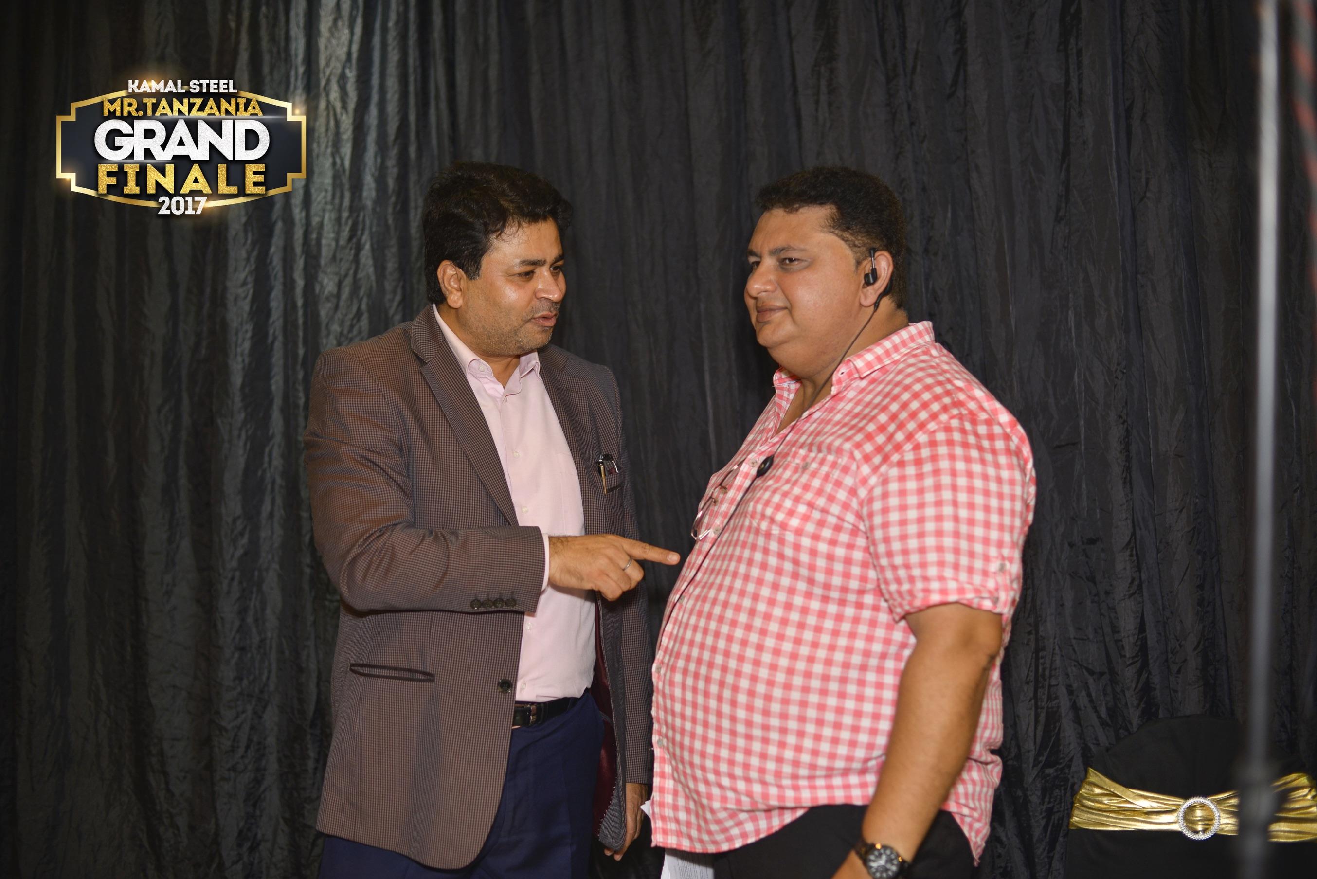 Mr. Gagan From Kamal Steel with Mr. Nilesh Bhatt